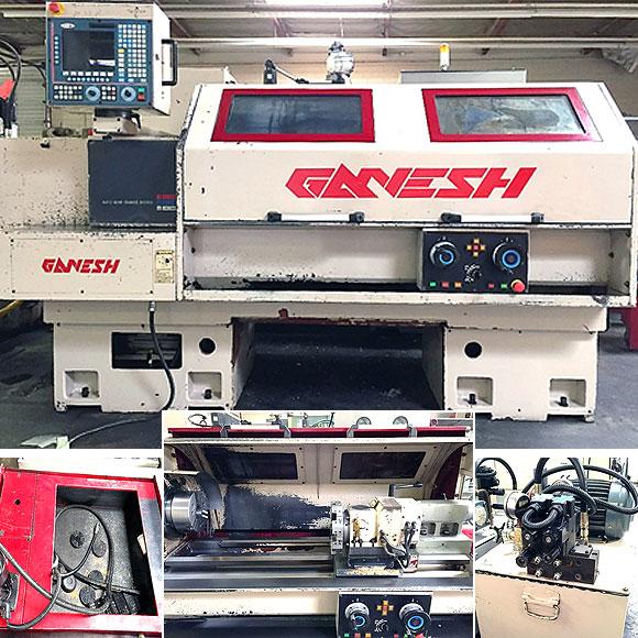 Ganesh GT 2050 CNC Lathe (2006)