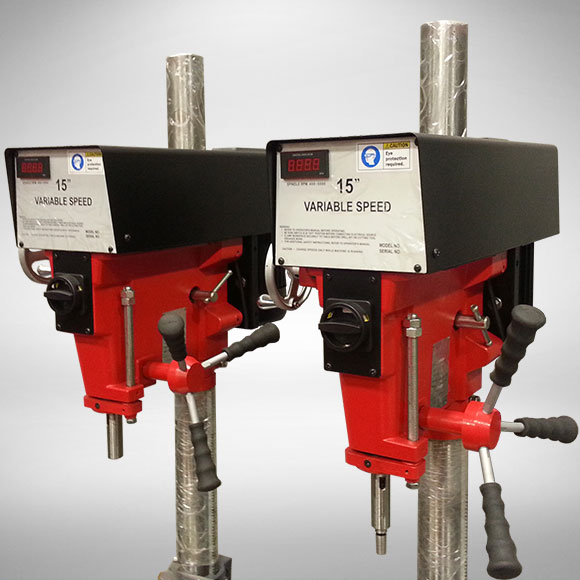 JMT Drill Presses (Close-Up)