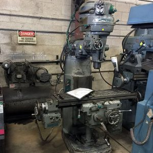 Used Vertical Mills
