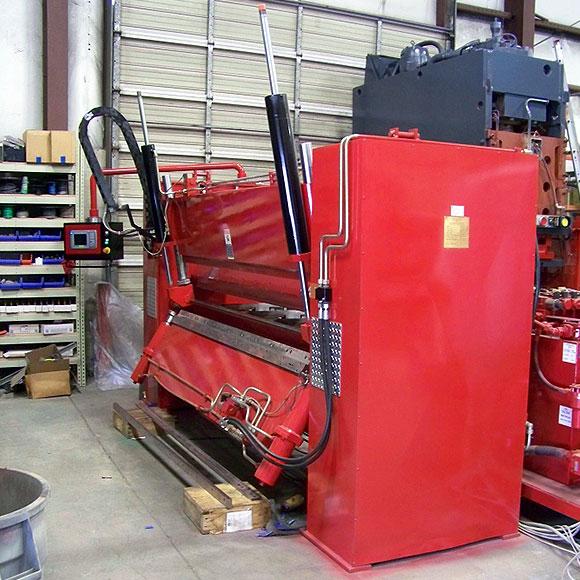 Davi-Ystad Hydraulic CNC Folding Machine