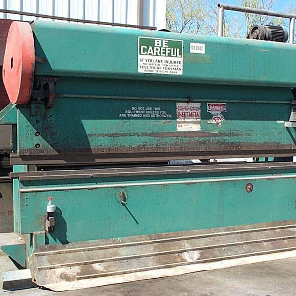 Excelsior Press Brake Front