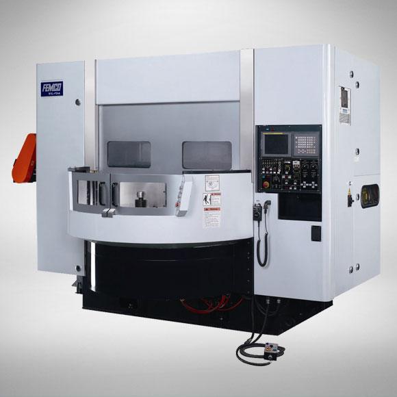 FEMCO WVL-F24A CNC Wheel Turning Center