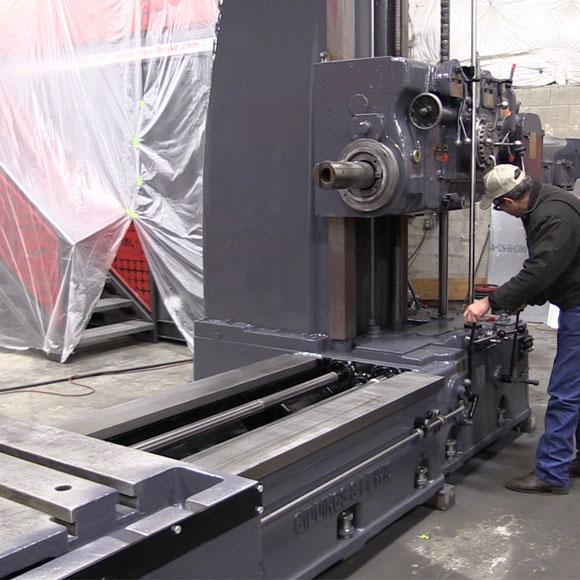 horizontal machine