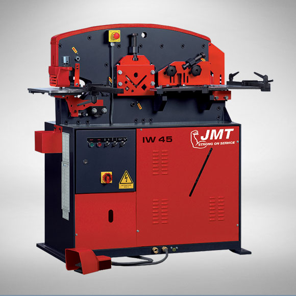 JMT IW45 Single Cylinder Ironworker