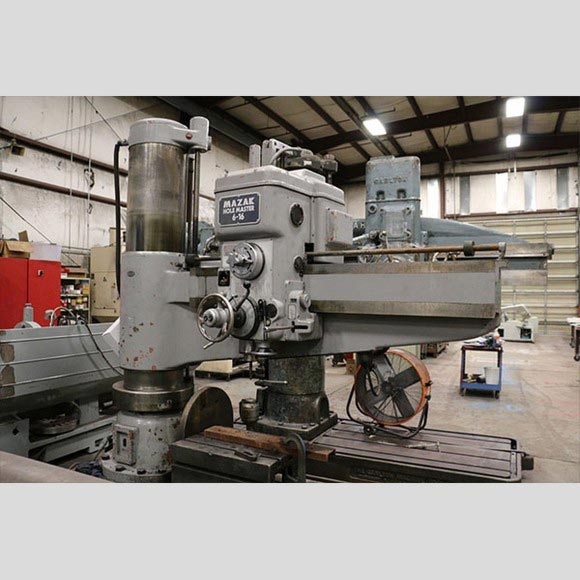 Mazak Hole Master Radial Drill Left Side View