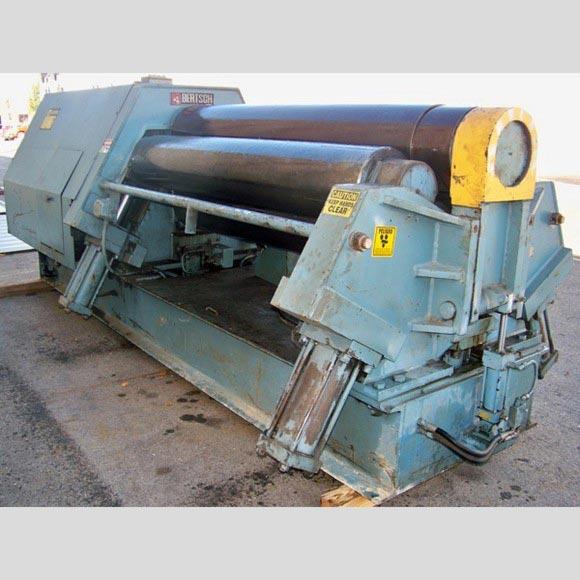 Bertsch 4 Roll Plate Roll Back View