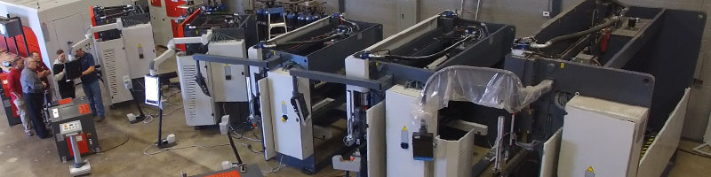 New JMT Press Brakes from Jorgenson