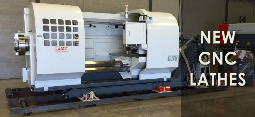 New CNC Lathes from Jorgenson
