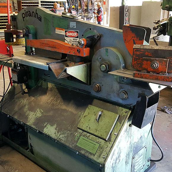 Piranha 70 Ton Ironworker Jorgenson Machine Tools