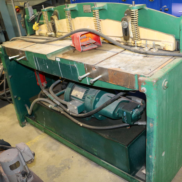 National 52 Inch Hydraulic Shear
