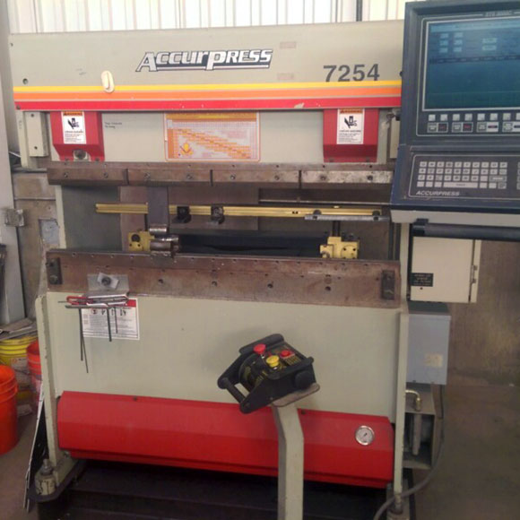 Accurpress 4 Foot Press Brake for Sale