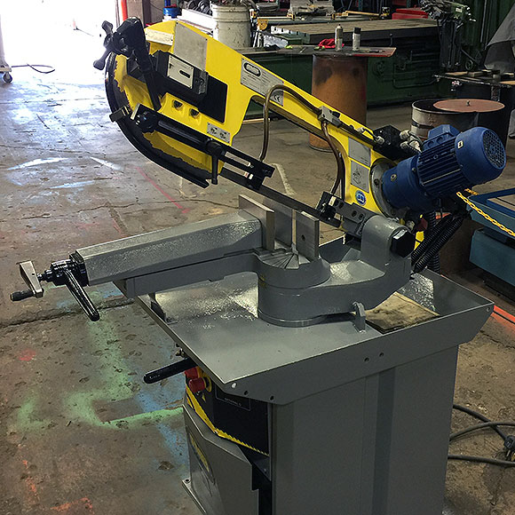 used fmb phoenix band saw with head up