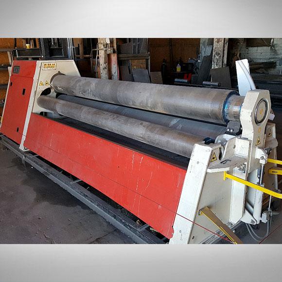 Used DAVI CNC Plate Roll