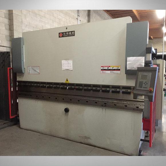 World NC Machinery Press Brake