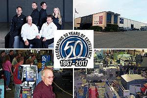 Jorgenson Machine Tools 50th Anniversary