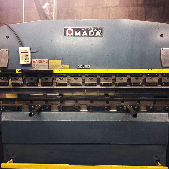 Amada RG80 Press Brake