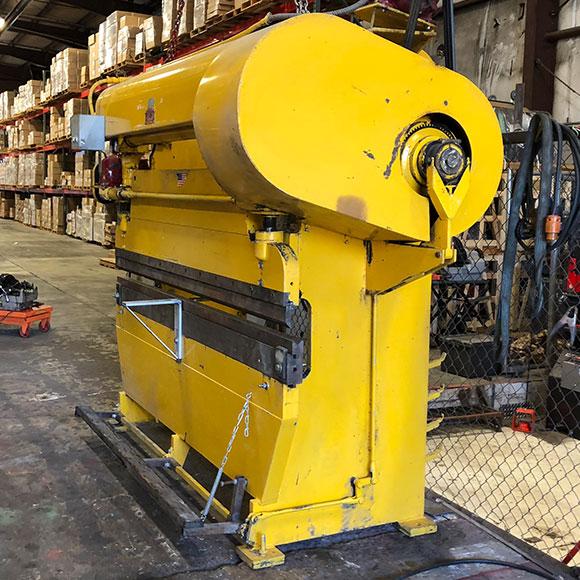 Airtherm 8 Foot Mechanical Press Brake Bud S Machine Tools